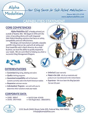 AM Capabilities Statement 2019